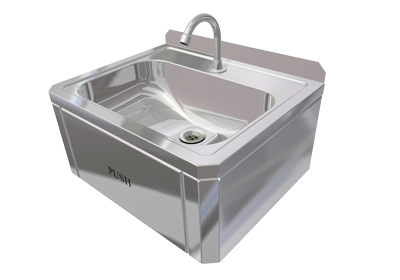 Hand Wash Sink (Knee Control)