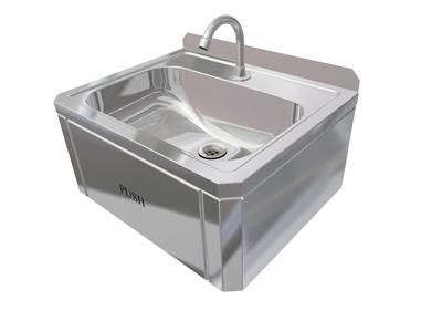Hand Wash Sink (Knee Control)