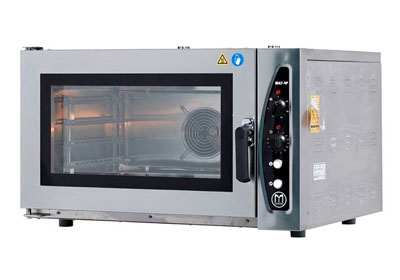 Electric Convection 4 tray bakery oven